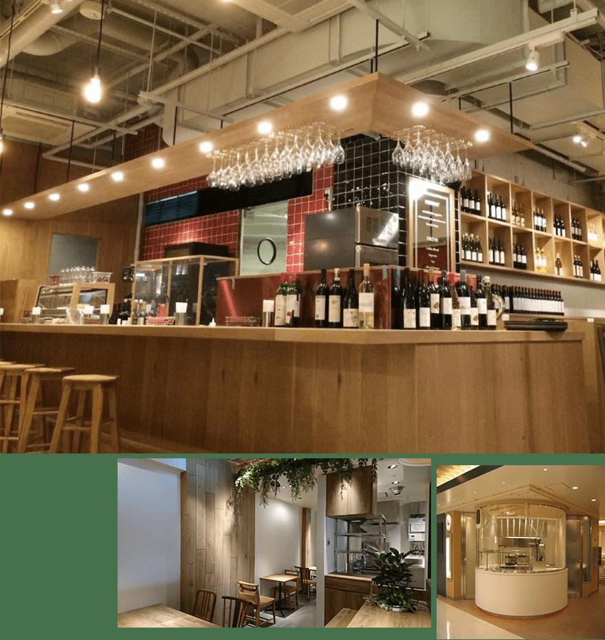 物販系の店舗や飲食店イメージ